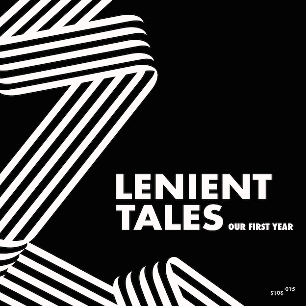 Various_Artists_-_Lenient_Tales_Our_First_Year_(Cover)