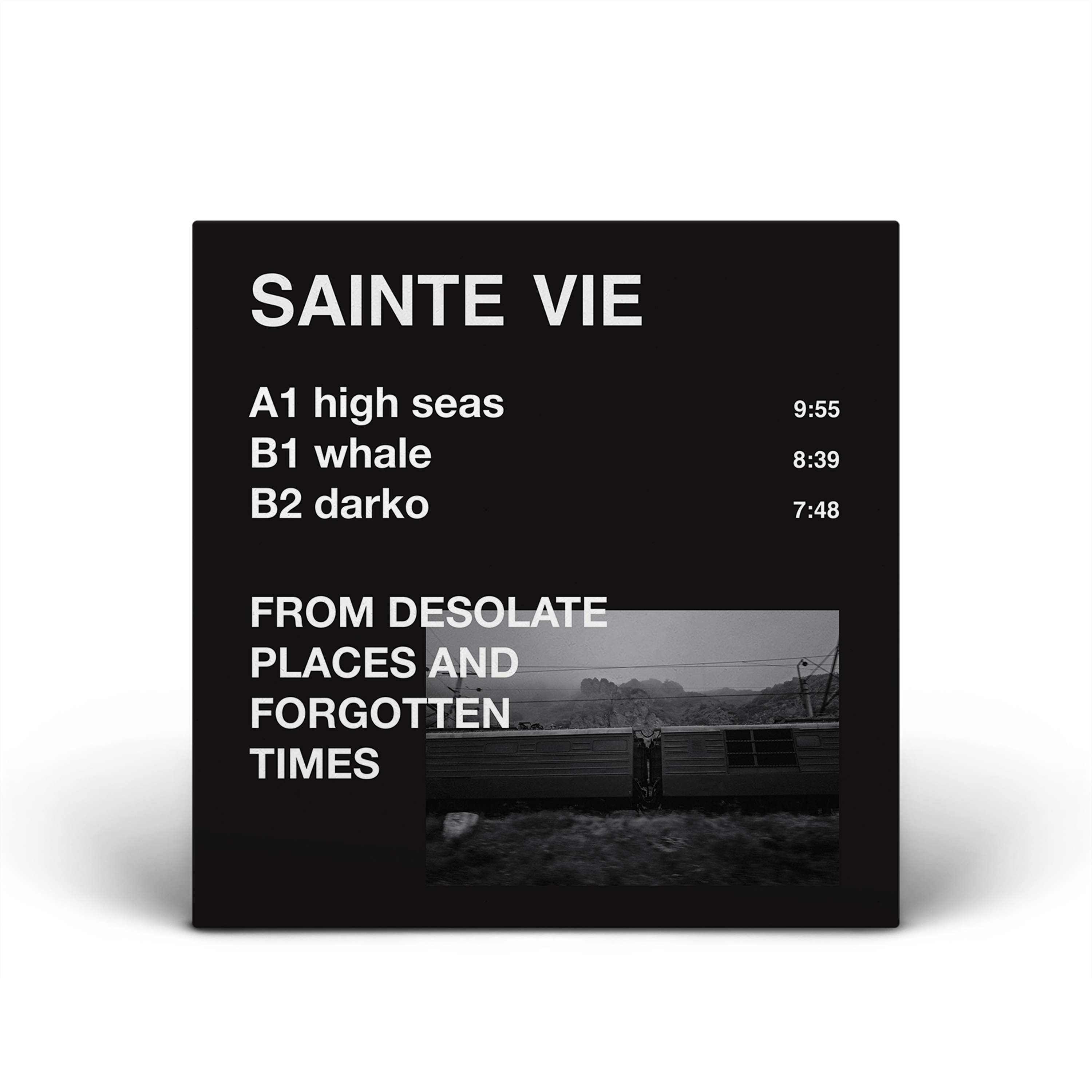 Sainte Vie - From Desolate Places and Forgotten Times EP - AK003 (DIGITAL ARTWORK MOCK-UP)